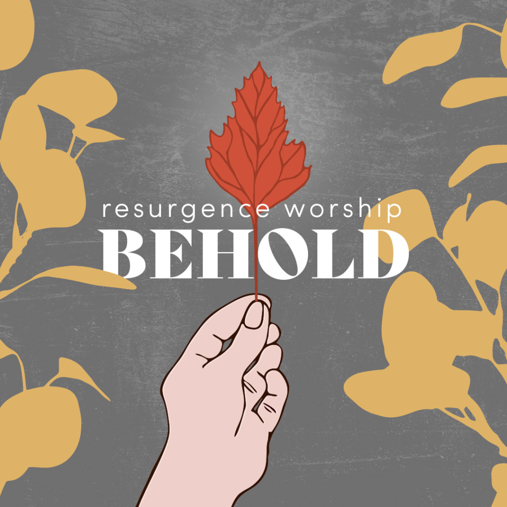 Behold Album Cover from Resurgence Worship