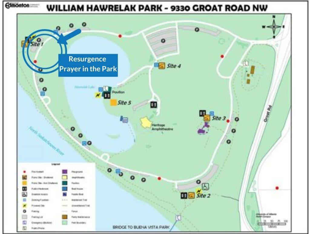 Hawrelak Park - Resurgence Prayer in the Park
